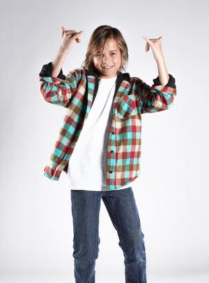 """andrew"" flannel jacket"