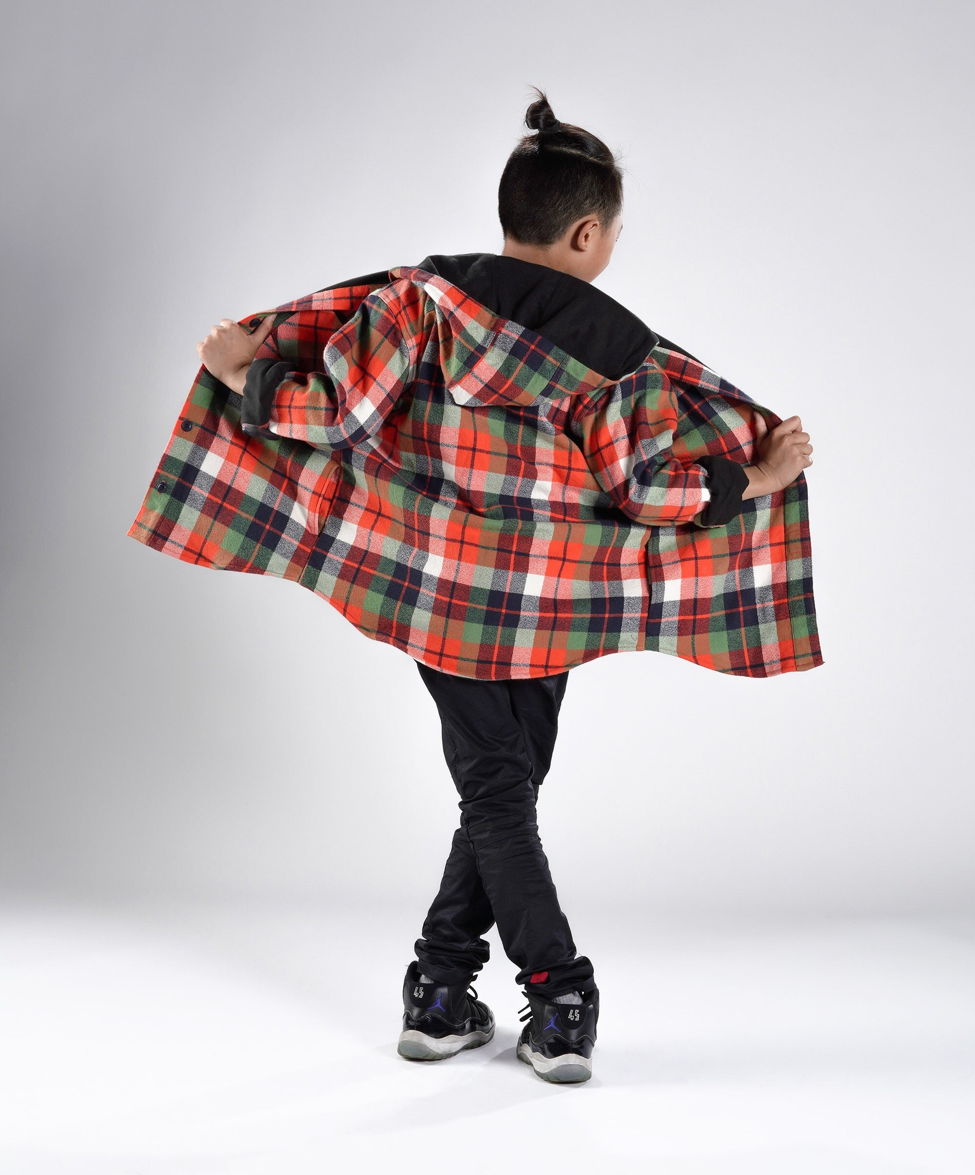 """alex"" flannel jacket"
