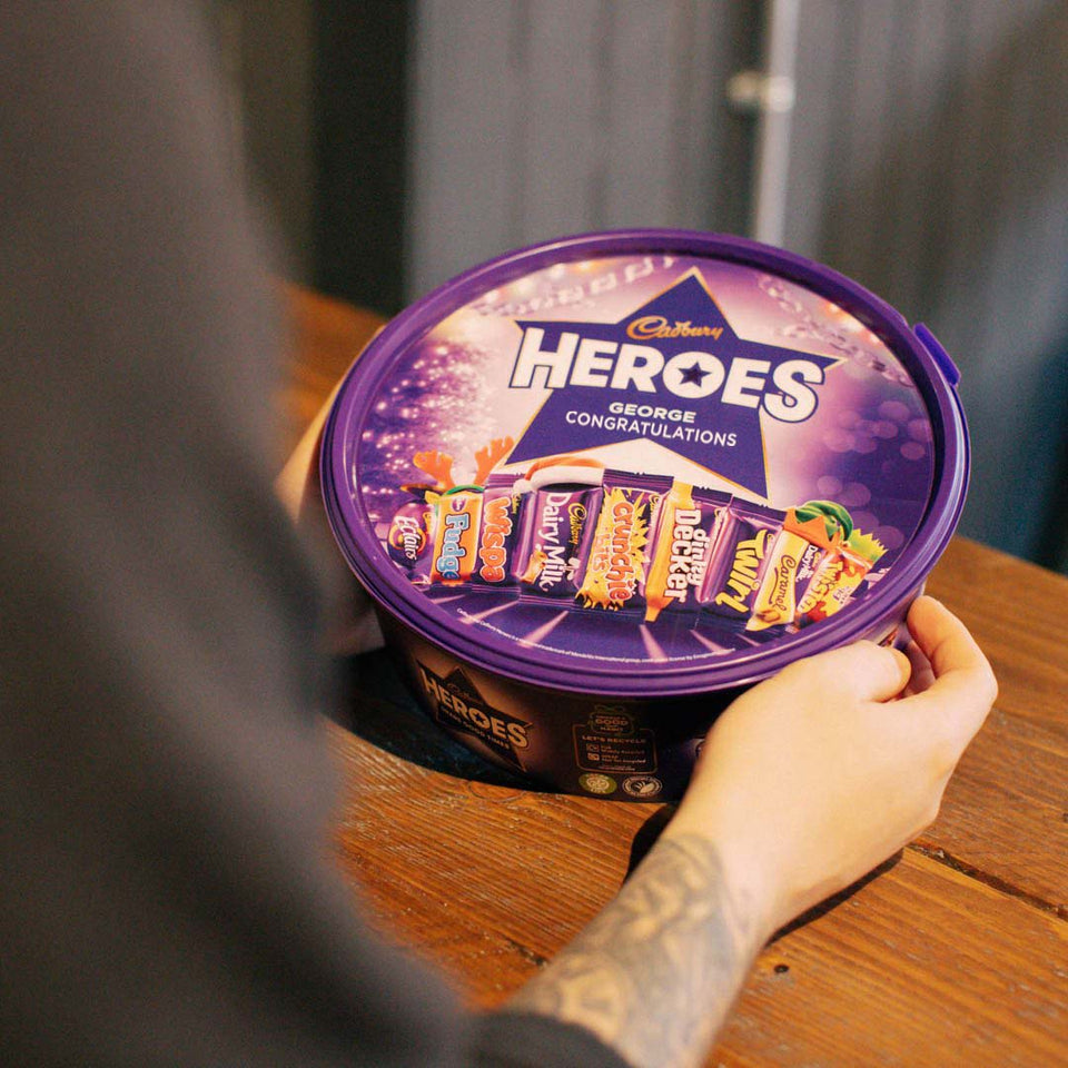 Personalised Heroes Tub