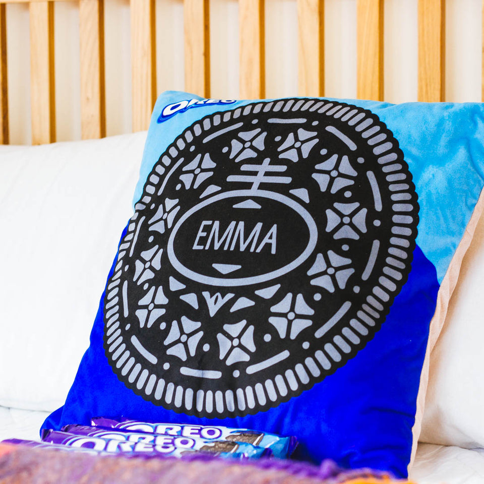 Personalised Oreo Cushion