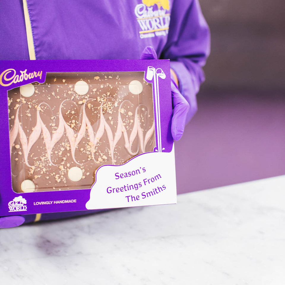 Cadbury Strawberry Shortcake Slab