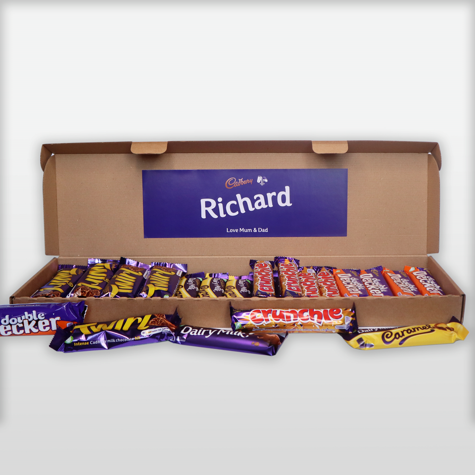 Cadbury Hamper Through The Letterbox!