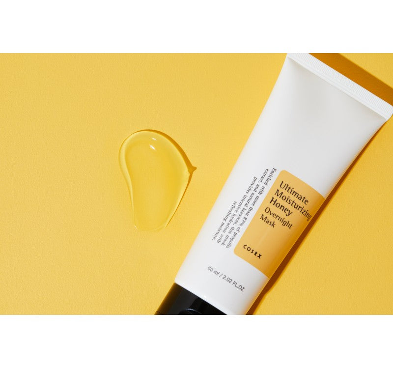 Cosrx  ULTIMATE MOISTURIZING HONEY OVERNIGHT MASK-PALPASAONLINE