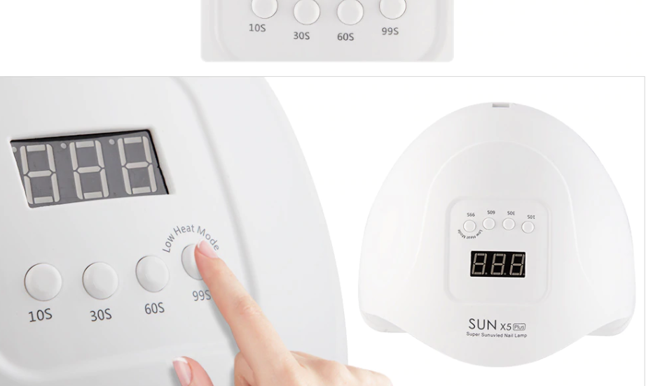 SUN X5 80W/54W LED LAMP NAIL DRYER - PALPASA ONLINE