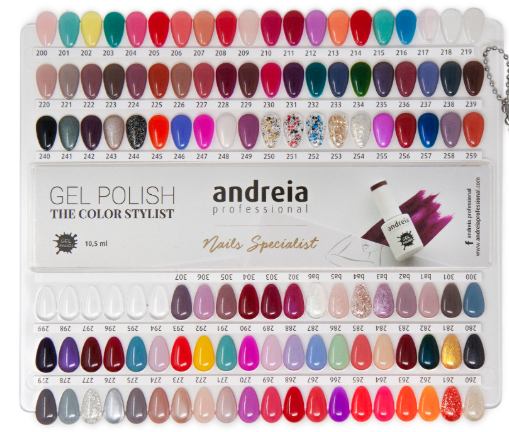 Gel Polish Kit Andreia mit UV / Led-Katalysator