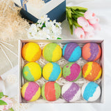 HAND MADE VEGAN BATH BOMBS WITH A REFINED AROMA WITH CREME - PALPASA ONLINE