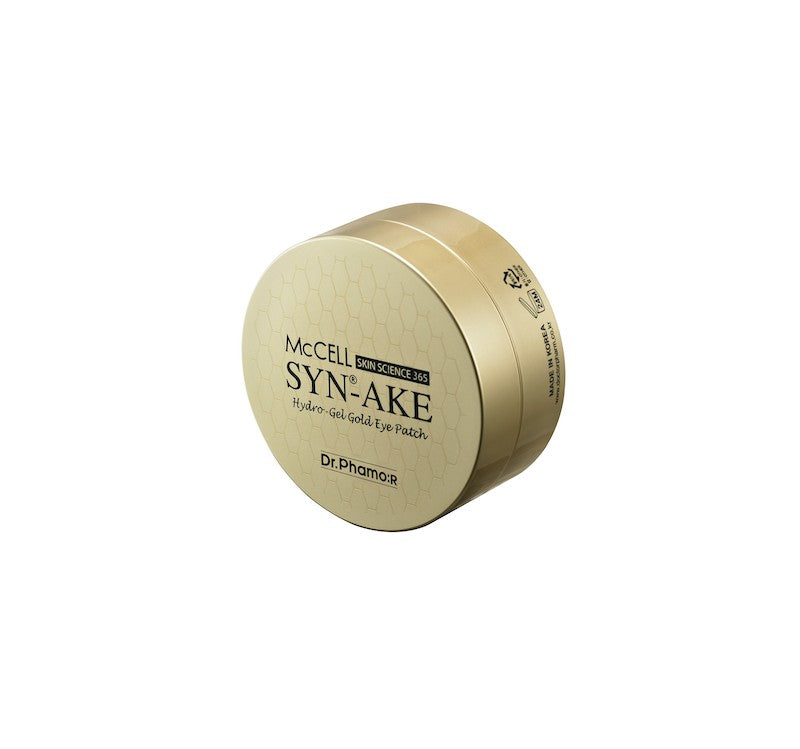 Dr.Phamor MCcell SKIN SCIENCE 365 SYN-AKE Hydrogel gold Augenklappe