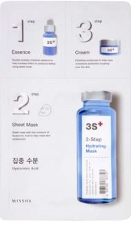 MISSHA 3 STEPS FACIAL MASK BY PALPASAONLINE