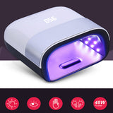 UV/ LED LIGHTS FOR GEL NAIL DRYER SMART PHOTO-THERAPY WITH SMART TIMER MEMORY - PALPASA ONLINE