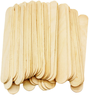 WOODEN SPATULA FOR WAXING 6 INCH - PALPASA ONLINE