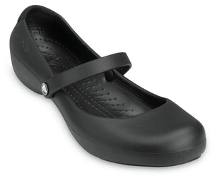 Crocs Alice Work | BlackCrocs Australia Women's Alice Work Flat One Country Mouse Yamba