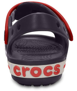 Crocs Australia Kids Crocband Sandal | Navy/Red | One Country Mouse Yamba