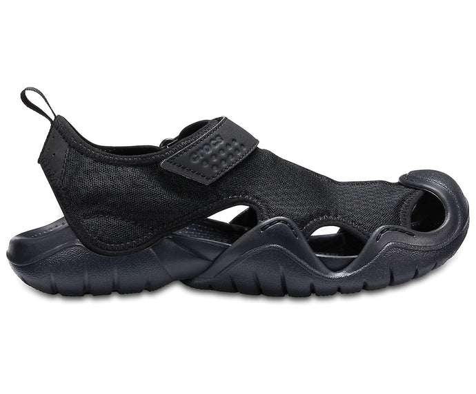 Crocs Australia Men's Swiftwater Sandal | Black One country Mouse Yamba