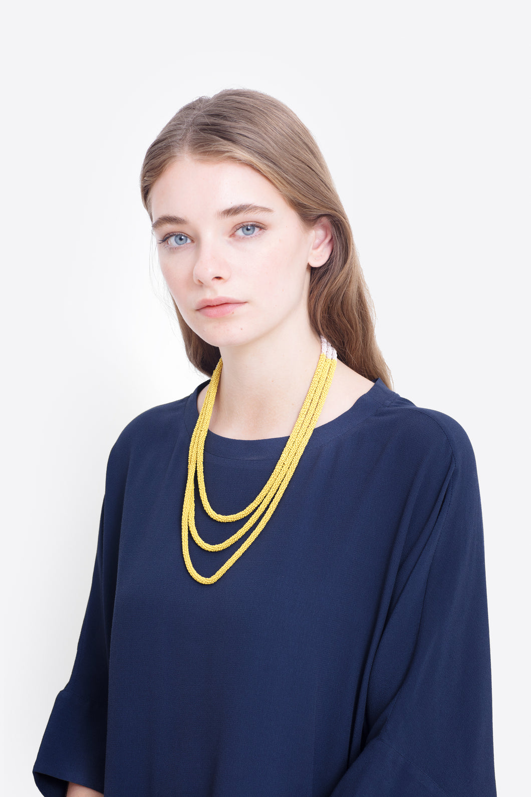 Elk the Label Ettie Necklace | Sulphur/Blush