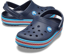 Load image into Gallery viewer, Kids Crocband Sport Cord Clog | Navy