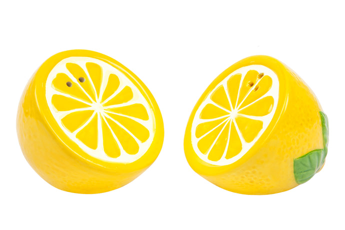 Salt and Pepper Shakers | Lemon
