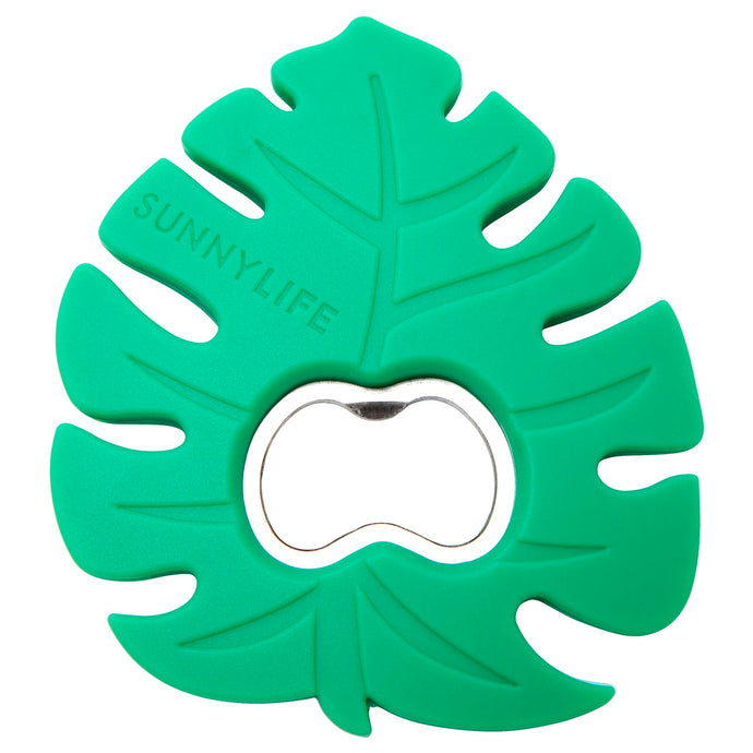 SILICONE BOTTLE OPENER | MONSTERA LEAF