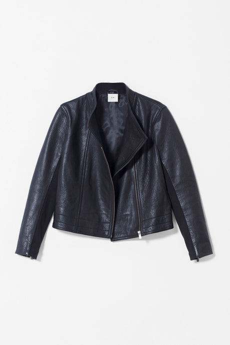 elk the label Lader Leather Jacket | Black