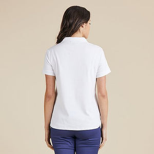 Polo Top | White