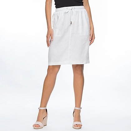 Gordon Smith JRip Waist Linen Skirt, Linen Short, Linen Clothing, One Country Mouse Yamba