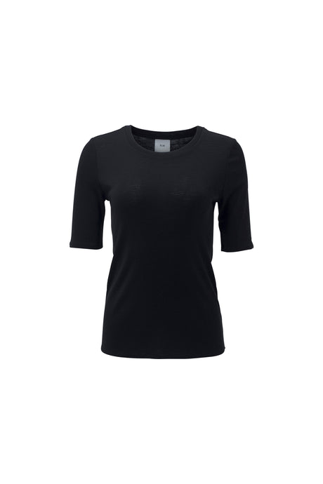 Elk the Label Marika Knit Top | Black