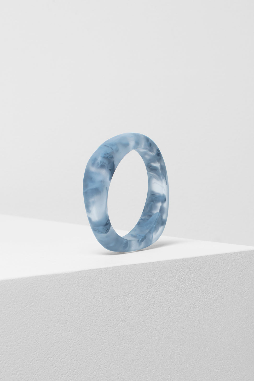 Fie Bangle | Ash Blue