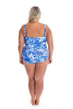 Load image into Gallery viewer, Hawaii Blue Underwire One Piece Back