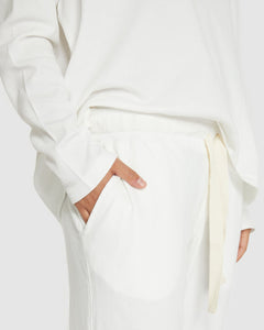 Cloth and Co Waffle Track Pant | Gardenia | One Country Mouse Yamba