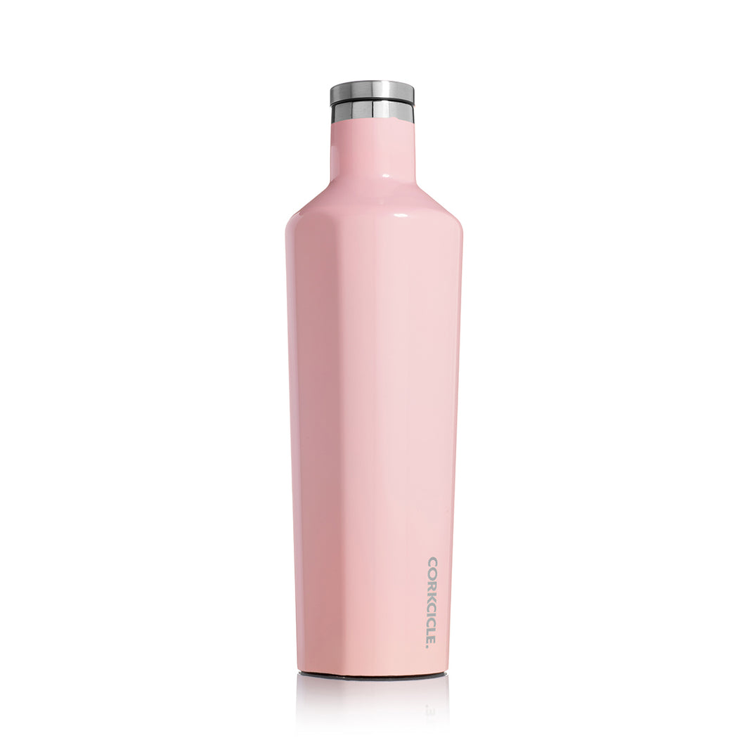 Corkcicle Insulated Stainless Steel Bottle Classic Canteen 750ml | Rose Quartz One Country Mouse Yamba