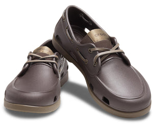 CROCS AUSTRALIA MENS CLASSIC BOAT SHOE ESPRESSO ONE COUNTRY MOUSE