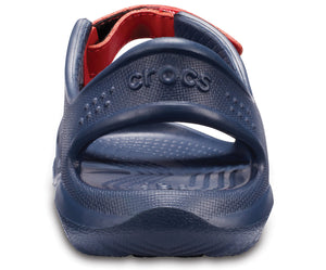 Swiftwater River Sandal Kids  | Navy/Flame
