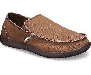 CROCS Australia Men's Santa Cruz Slip-On | Espresso One Country Mouse Yamba