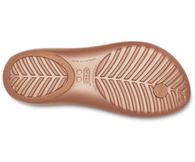 Load image into Gallery viewer, CROCS Serena Flip | Bronze/Bronze