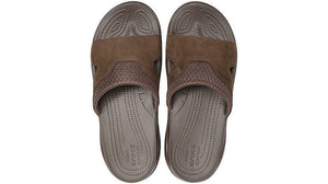 Crocs Australia Swiftwater Leather Slide | Espresso/Espresso One Country mouse Yamba