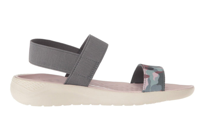 Crocs Australia Literide Graphic Sandal | Charcoal/Stucco One country Mouse Yamba