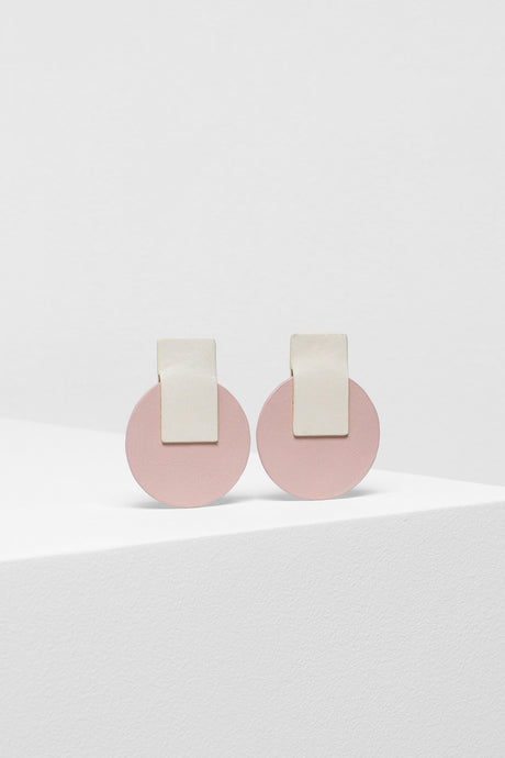 Anni earrings | Ivory/Nude