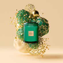 Load image into Gallery viewer, Glasshouse Fragrances Under The Mistletoe - 380g Candle - One Country Mouse Yamba