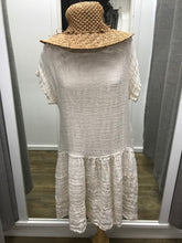 Load image into Gallery viewer, Italian Linen Tiered Dress | Capana