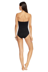 JETSET | BANDEAU ONE PIECE | BLACK