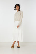 Load image into Gallery viewer, Elka Collective Raquel Knit Skirt | White