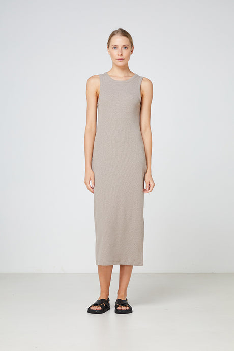 Elka Collective Nola Dress, Ribbed Dress, One Country Mouse Yamba