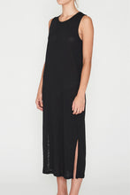 Load image into Gallery viewer, EC Linen Tank Dress - Black