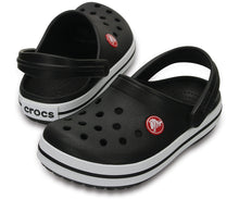 Load image into Gallery viewer, Crocs Australia Kids Crocband Clog | Black One Country Mouse