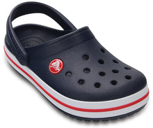 Load image into Gallery viewer, Crocs Australia Kids Crocband Clog | Navy/Red One Country MOuse