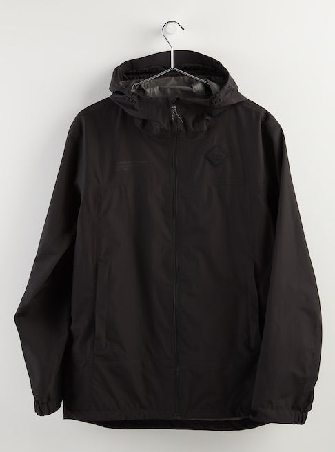 Men's Burton GORE-TEX Packrite Rain Jacket True Black