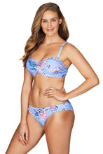 Load image into Gallery viewer, BAHAMAS | BIKINI PANT WITH EMBROIDERY | SKY BLUE