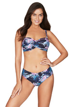 Load image into Gallery viewer, BAHAMAS | TWIST FRONT BANDEAU BIKINI TOP | NIGHT SKY