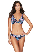 Load image into Gallery viewer, BAHAMAS | BIKINI PANT WITH EMBROIDERY | NIGHT SKY