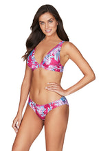 Load image into Gallery viewer, BAHAMAS | BIKINI PANT WITH EMBROIDERY | ROSE