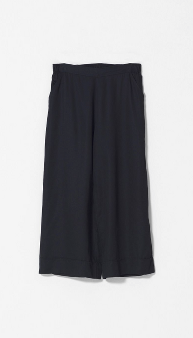Wide Leg Culottes | Black